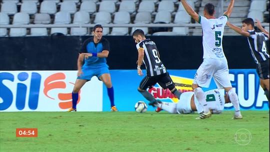 Botafogo vence a Portuguesa-RJ por 4 a 1