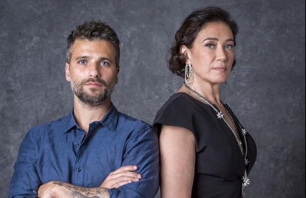 Ao recuperar a memória, Gabriel (Bruno Gagliasso) desconfiará de que Valentina (Lilia Cabral) tramou a sua morte (Foto: TV Globo)