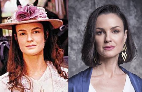 """Carolina Kasting viveu Rosana, a filha de Gumercindo que se apaixona por Matteo. A atriz está no elenco de """"Salve-se quem puder"""" TV Globo"""
