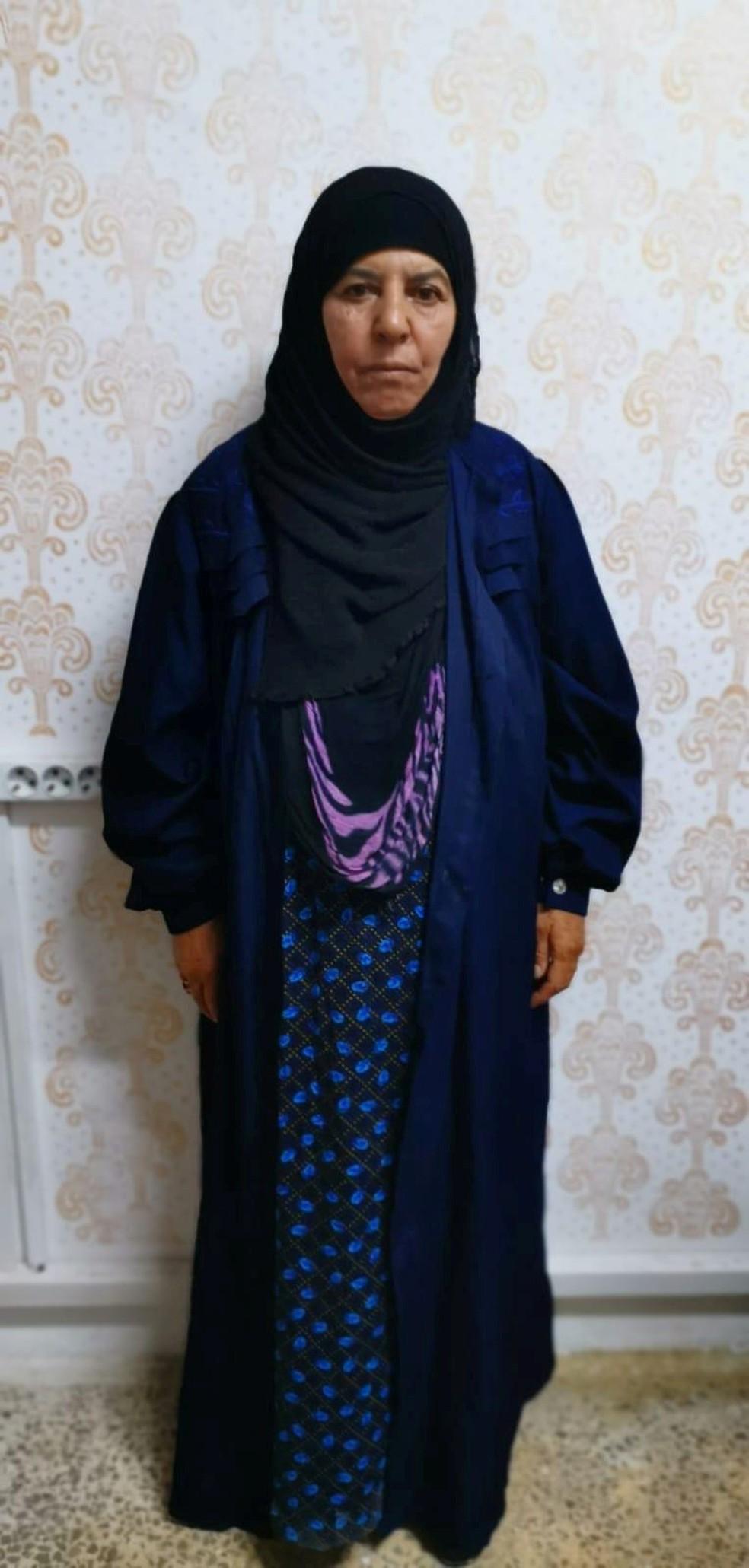 Abu Bakr Al-Baghdadi's sister Rasmiya Awad has been arrested in Turkey - Photo: Turkish security officials / Reuters