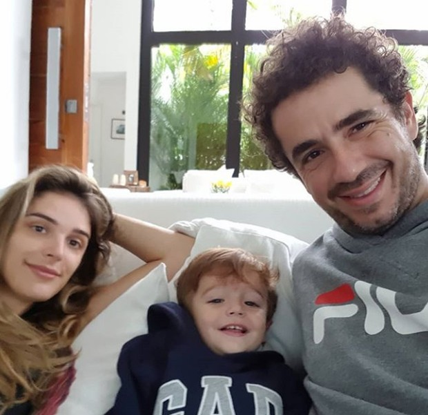 Rafa Brites, Rocco e Felipe Andreoli (Foto: Reprodução / Instagram)