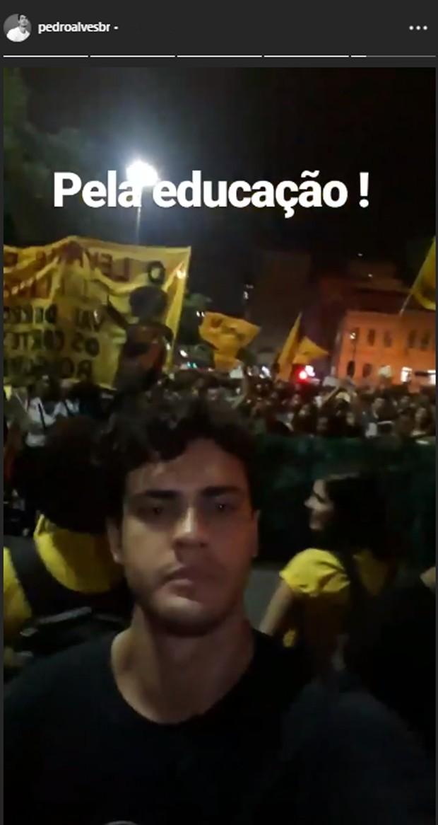 Pedro Alves em São Paulo (Foto: Reprodução/Instagram)