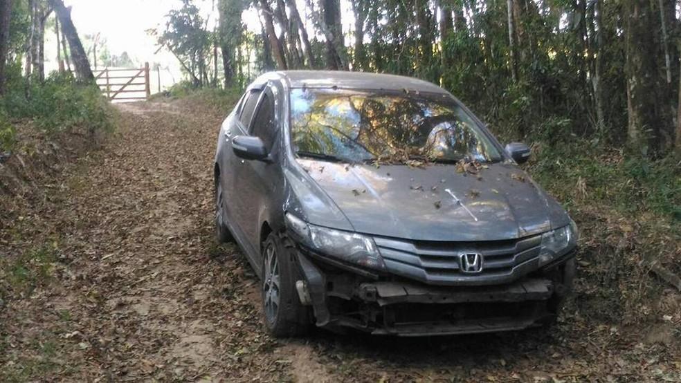 Carros usados em explosões foram roubados em São Paulo (SP). (Foto: Polícia Militar)