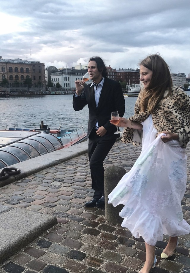 O casamento de Caroline Brasch Nielsen e Frederik Bille Brahe (Foto: Instagram Caroline Brasch/ Reprodução)