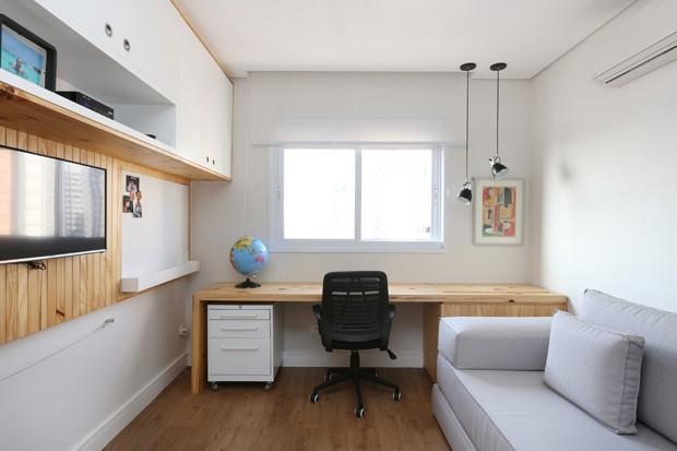 7 dicas para a decoração para quarto de hóspedes (Foto: Mariana Orsi)