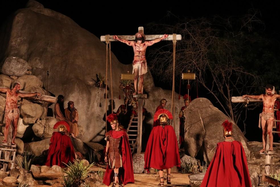 Espetáculo da Paixão de Cristo de Nova Jerusalém recebe auxílio do Governo  Federal | Caruaru e Região | G1