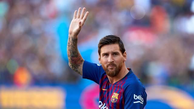 Messi é o capitão do Barcelona