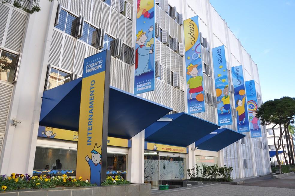 Hospital Pequeno Prínicpe em Curitiba (Foto: Divulgação)