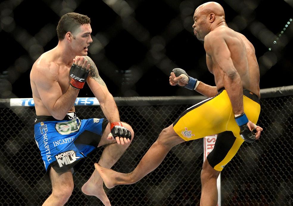 Lesão de João Paulo foi parecida com a de Anderson Silva, do UFC, em 2013 (Foto: Reuters)