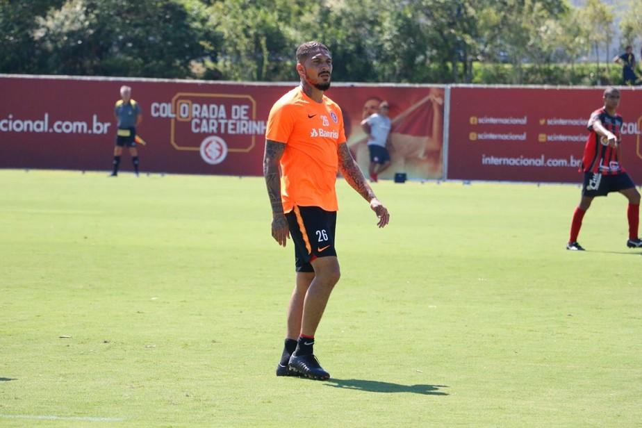 Em primeiro teste de Guerrero, reservas do Inter empatam jogo-treino com Sapucaiense
