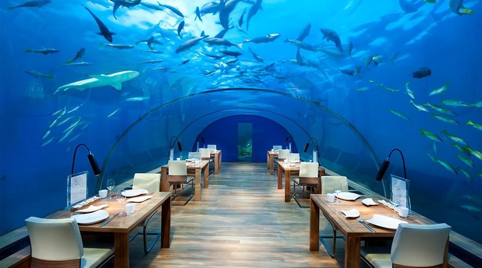 Restaurante Ithaa (Foto: Reprodução/conradmaldives.com)