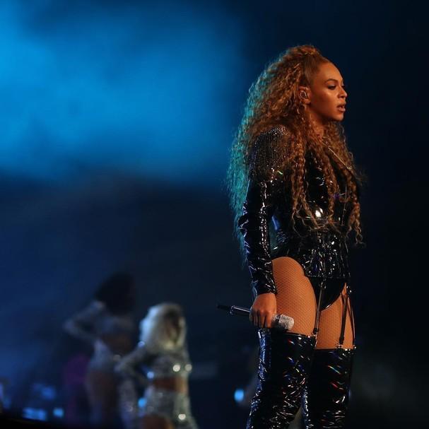 Beyoncé no Coachella (Foto: Reprodução / Instagram)