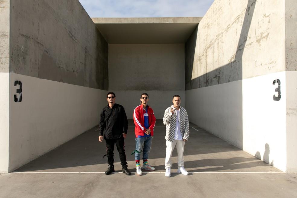 Banda promete um show completamente visual e novo — Foto: Tristan Stefan / Divulgação