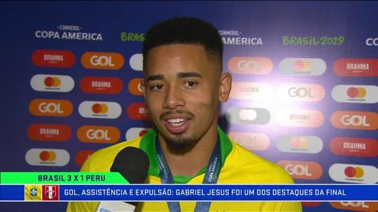 Gabriel Jesus diz que amadureceu e que chegou à Copa América melhor mentalmente