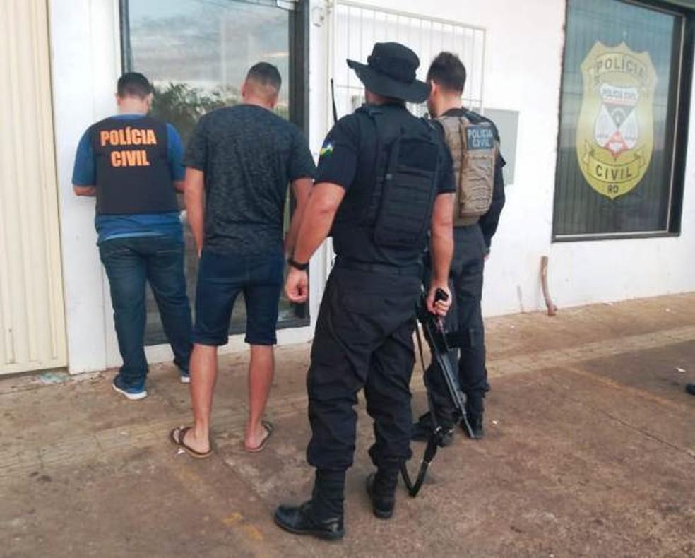 Operação Flagelo envolve trabalho de 30 policiais — Foto: Polícia Civil/Divulgação