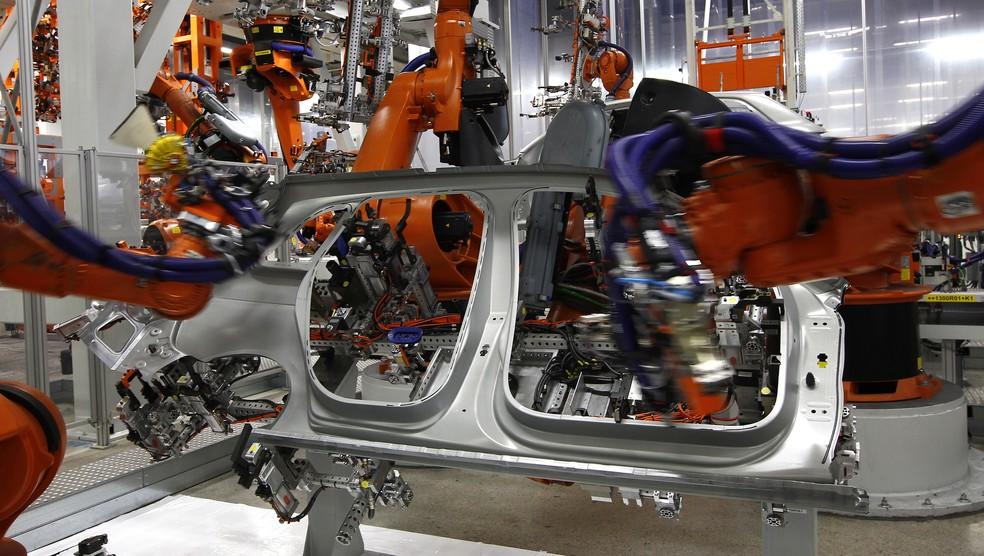 Produção de veículos foi uma das mais afetadas em maio em decorrência da greve dos caminhoneiros, que paralisou o país. (Foto: Reuters)