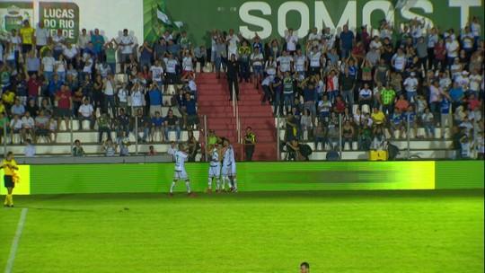 Os gols de Luverdense 2 x 1 Santos pelas oitavas da Copa do Brasil