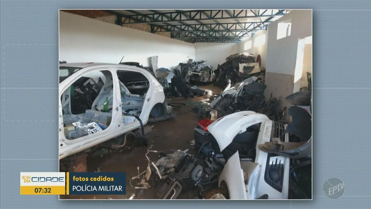 Polícia Militar fecha desmanche clandestino de carros em Limeira
