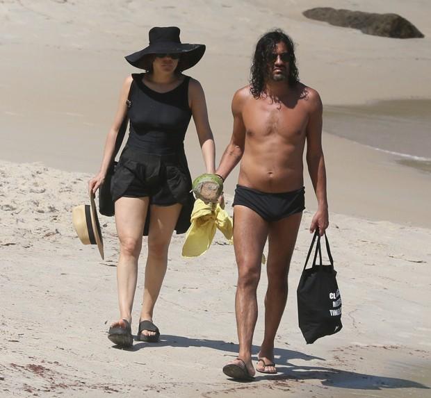 Bárbara Paz e Paulo Sousa (Foto: agnews / AgNews)