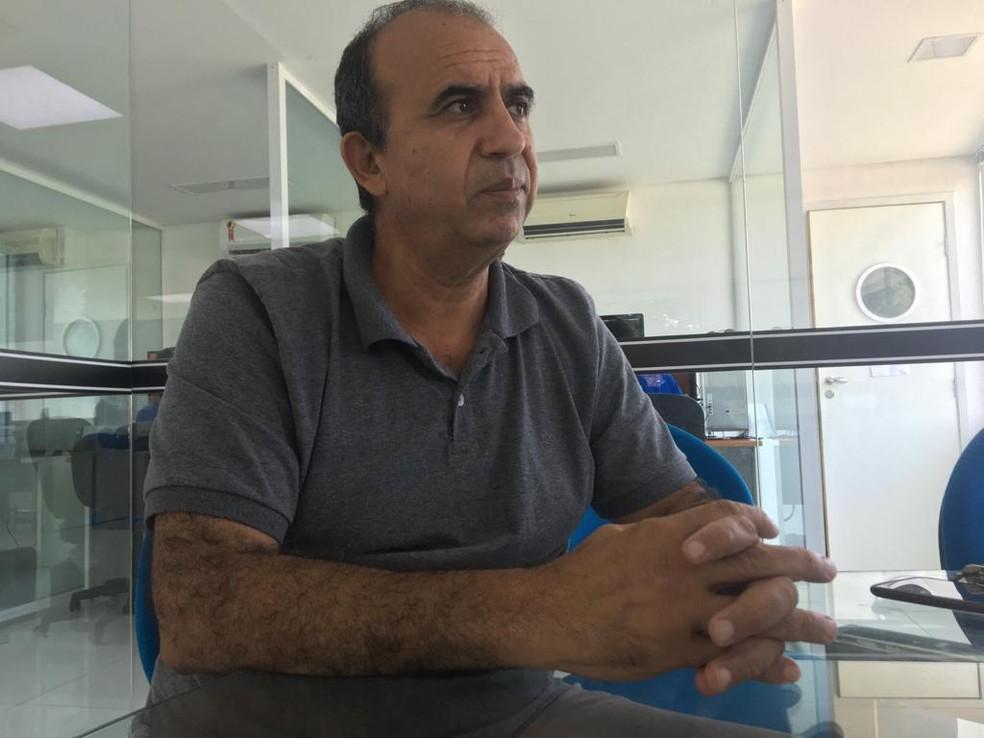 Muhamad Taufik é presidente da Associação em Solidariedade ao Imigrante do Rio Grande do Norte — Foto: Rafael Barbosa/G1