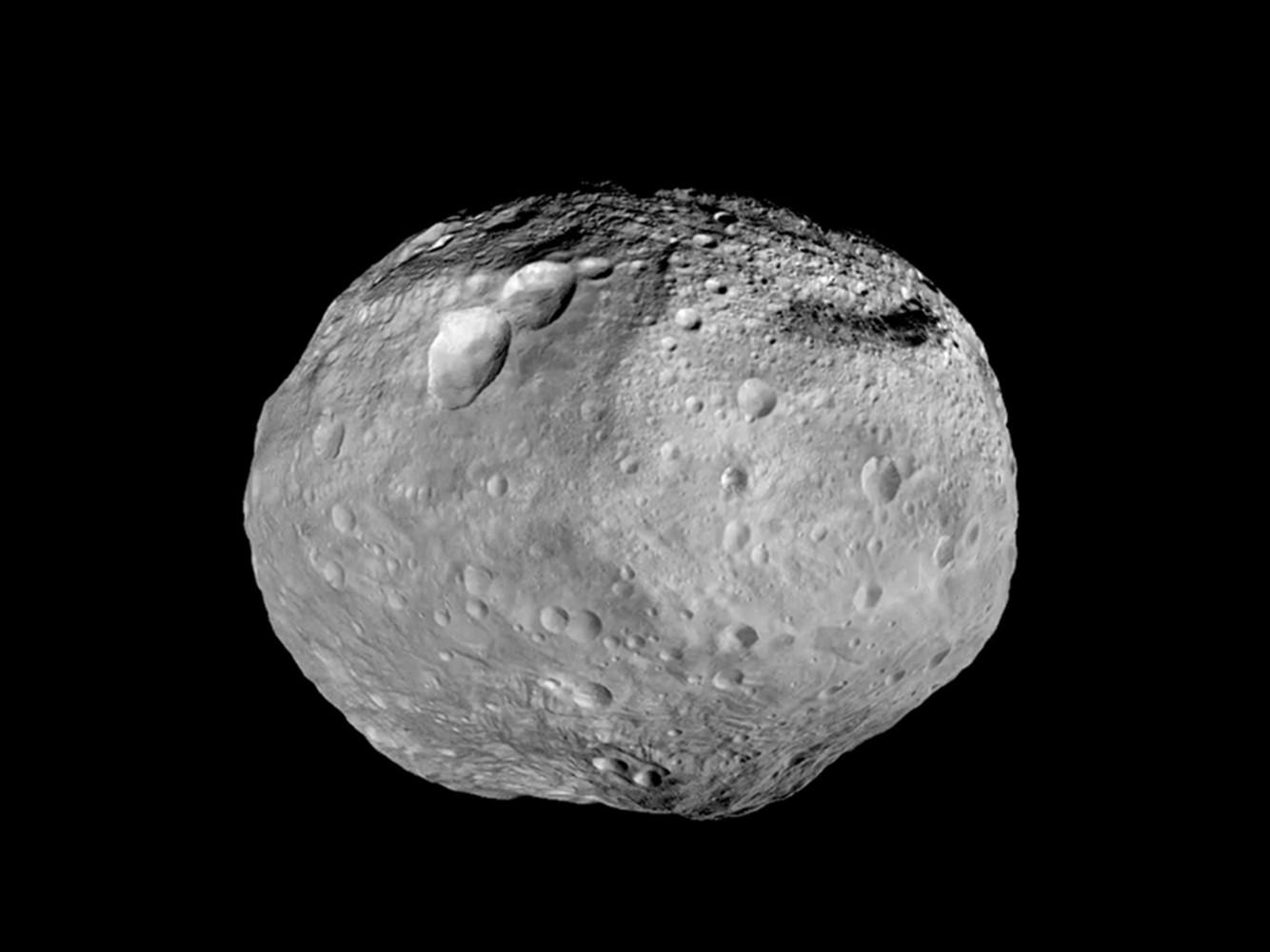 Foto de um asteroide  (Foto: Divulgação/NASA)