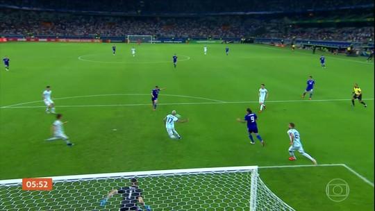 Argentina empata com o Paraguai em 1 a 1 pela Copa América