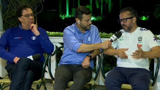"""Galvão lembra quedas para o Paraguai na Copa América: """"Não pode ir para pênaltis"""""""