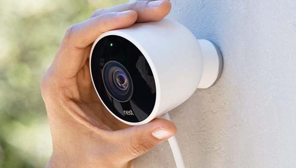 A Nest Cam Outdoor permite gravar até 30 dias de filmagens na nuvem, mas para isso é necessário pagar (Foto: Divulgação/Nest)