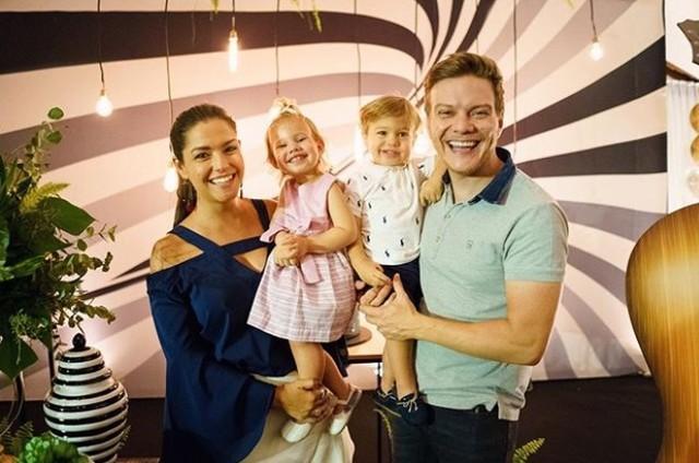 Thais Fersoza, Michel Teló e os filhos (Foto: Reprodução / Instagram)