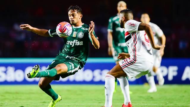 São Paulo x Palmeiras - Gustavo Scarpa e Reinaldo