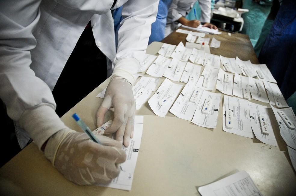 Baixada Santista ultrapassa 166 mil casos de Covid-19 e registra sete mortes pela doença em 24h — Foto: Breno Esaki/Agência Saúde