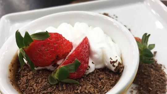 Cremoso de Chocolate de Micro-ondas