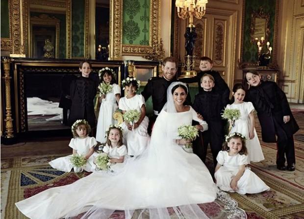 Família real briânica  (Foto: Reprodução / Instagram)