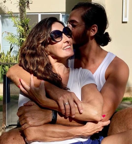 Fátima Bernardes e Túlio Gadelha (Foto: Reprodução Instagram)