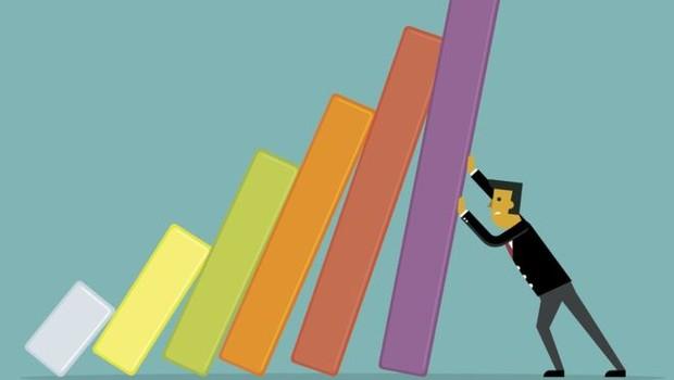 Feito em parceria com a americana Duke University, o CFO Optimism Index recuou do nível mais alto desde 2013 - 68,5, registrado em dezembro de 2018 - para 49,2 (Foto: GETTY IMAGES)