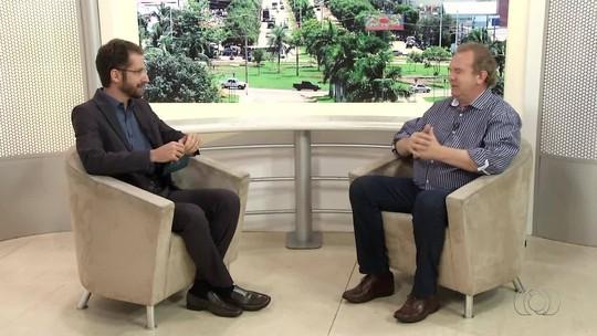 Veja a entrevista de Mauro Carlesse no Jornal Anhanguera 1ª Edição; vídeo
