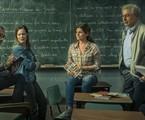 A segunda temporada de 'Segunda Chamada' chegou hoje ao Globoplay. O elenco da série contou para a coluna momentos marcantes das suas vidas relacionados com a educação. Confira a seguir:  | TV Globo
