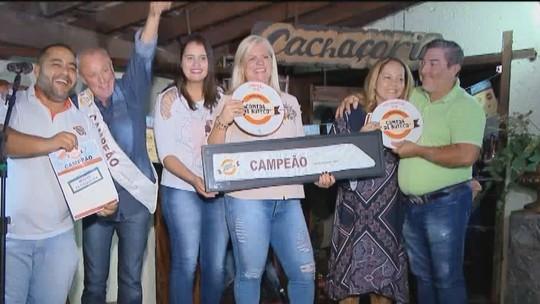 Prato 'Trem bão uai' é o vencedor do concurso Comida Di Buteco em Uberlândia