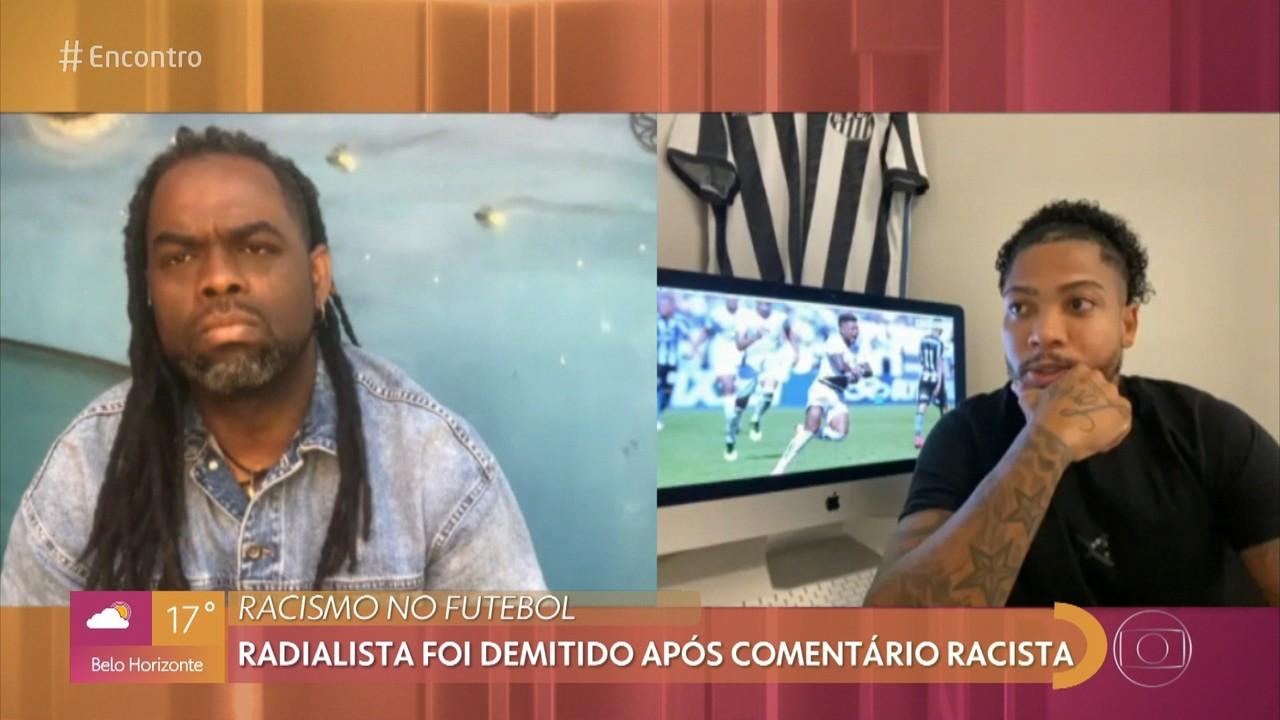 Marinho, jogador do Santos, foi ofendido com comentários racistas