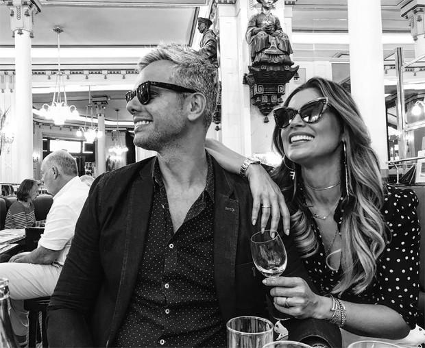 Otaviano Costa e Flavia Alessandra (Foto: Reprodução/Instagram)