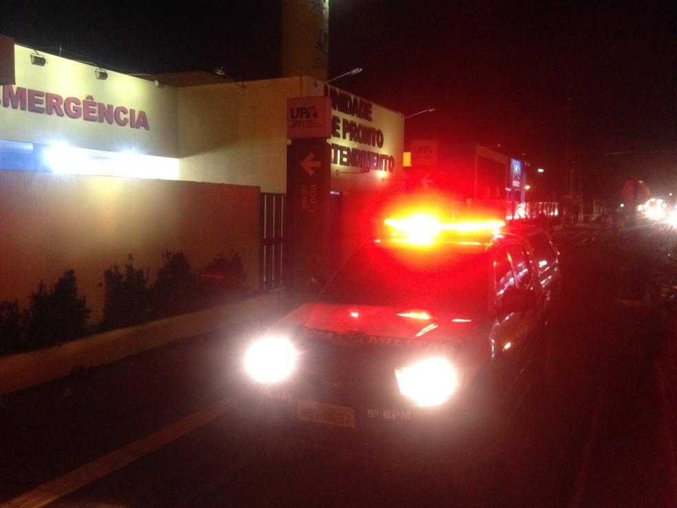 -  Vítimas foram encaminhadas à UPA da Zona Leste, em Porto Velho  Foto: Toni Francis/G1