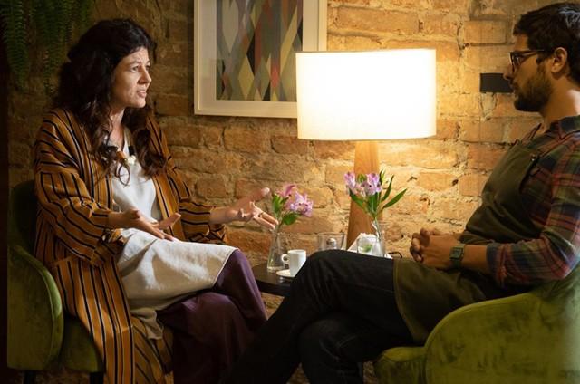 Gilda Nomacce e Kelner Macêdo  (Foto: Divulgação/HBO)