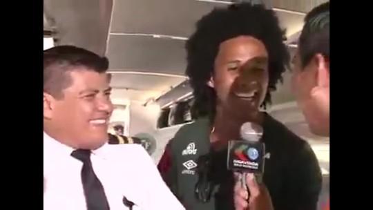 """""""Conduzidos pela LaMia, estamos bem"""", diz Kempes em último vídeo"""