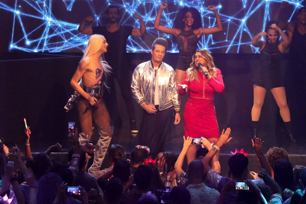 Preta Gil e Pabllo Vittar cantam juntas no filme  (Foto: Eny Miranda / Divulgação)