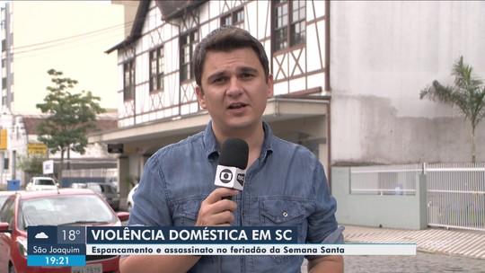 Homem é preso suspeito de dar soco e quebrar dentes de mulher em Rio dos Cedros