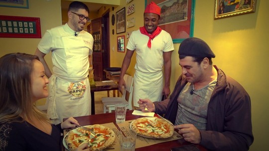 Hoje é dia de pizza: a tradicional Napolitana