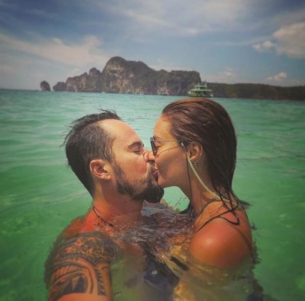 Paulo Vilhena e Amanda Beraldi (Foto: Reprodução / Instagram)