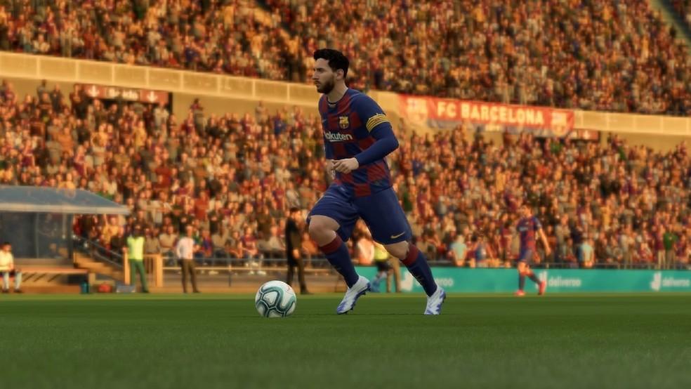 Messi é a grande referência do FIFA 20 — Foto: Reprodução/EA Sports