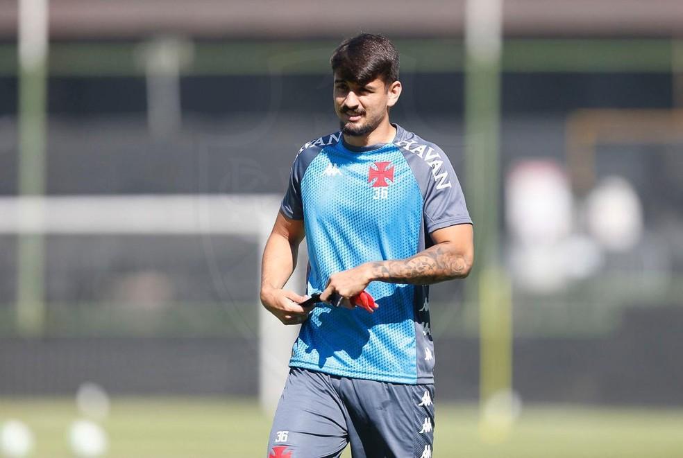 Ricardo Graça ganhou titularidade no comando de Ramon Menezes — Foto: Rafael Ribeiro/Vasco