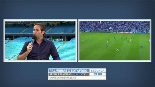 """Caio Ribeiro: """"Em um time ideal, o meio-campista seria o Lucas Lima"""""""
